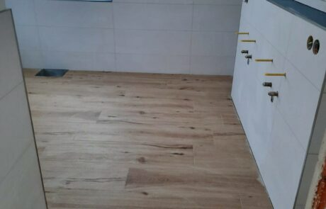 Neubauprojekt WC Bad Langerringen 3